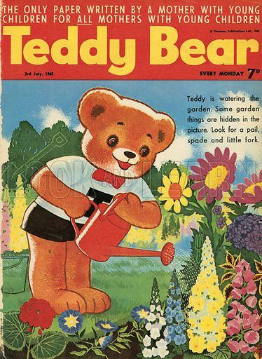 Teddy Bear magazine cover.