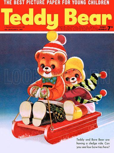 Teddy Bear. From Teddy Bear (4 January 1969).