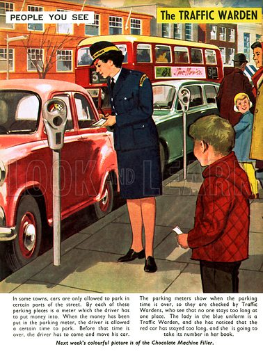 People You See. Traffic Warden. From Teddy Bear (4 January 1969).