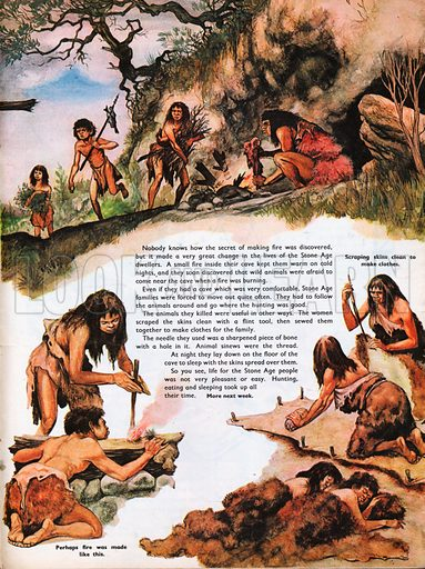 The Wonderful Story of Britain: The Stone Age People.