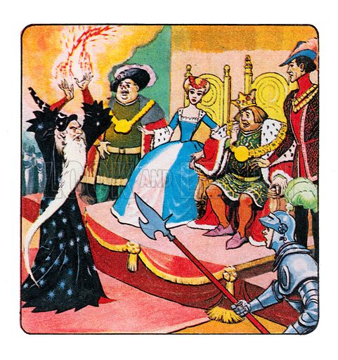 Princess Marigold. Panel from comic strip from Treasure, 19 January 1963.