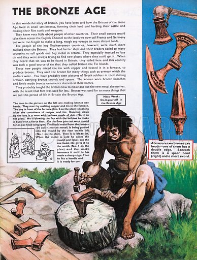 The Wonderful Story of Britain: The Bronze Age.