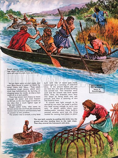 The Wonderful Story of Britain: Do-it-Yoursef in the Bronze Age. Bronze Age sailing.