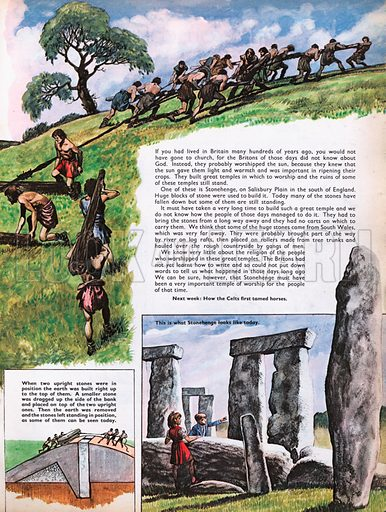 The Wonderful Story of Britain: Building Stonehenge.