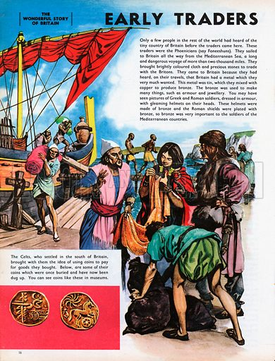 The Wonderful Story of Britain: Early Phoenician traders.
