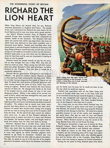 The Wonderful Story of Britain: Richard the Lionheart and his knights leave for the First Crusade.