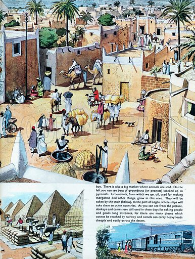 An ancient city of Africa - Kano, in Nigeria.