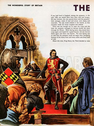 The Wonderful Story of Britain: The Barons' War. Simon de Montfort meets the men who have come to his Parliament in London.