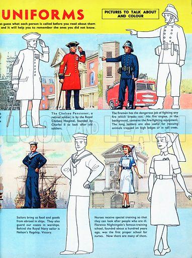 Different Uniforms.