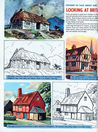 Looking at Britain's old houses.