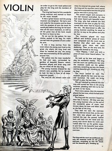 Scenes from the North European folk-tale The Magic Violin.