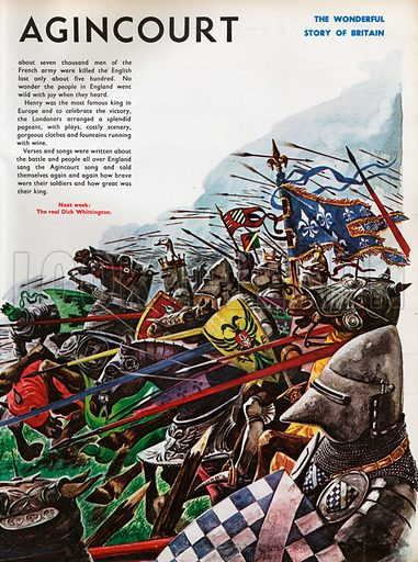 The Wonderful Story of Britain: The Battle of Agincourt.