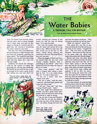 An abridged version of The Water Babies by Charles Kingsley.