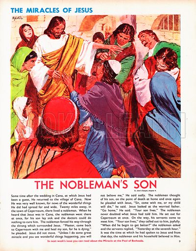 The Miracles of Jesus: The Nobleman's Son.