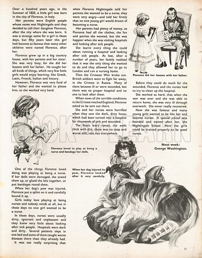 When They Were Young: Florence Nightingale. Three scenes from Florence Nightingale's childhood.