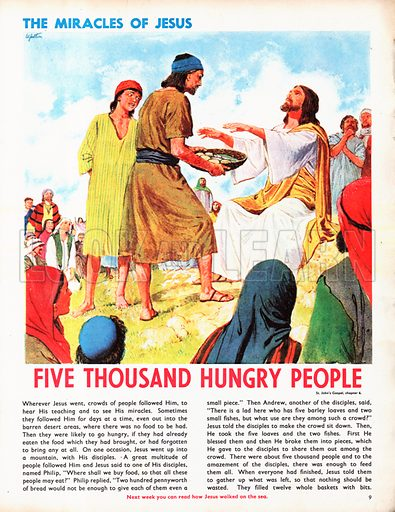 The Miracles of Jesus: Five Thousand Hungry People.