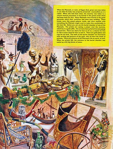 The History of Our Wonderful World: The Pharaoh's Splendid Tomb.