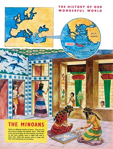 The History of Our Wonderful World: The Minoans.
