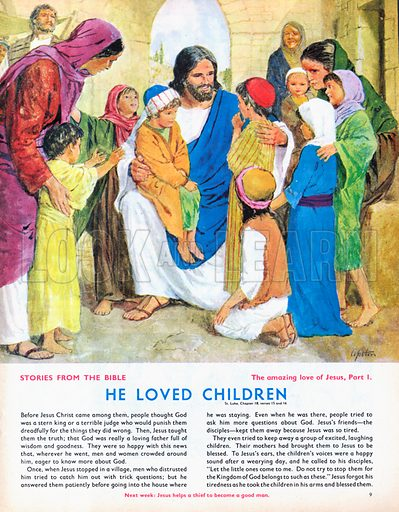 The Amazing Love of Jesus: He Loved Children.