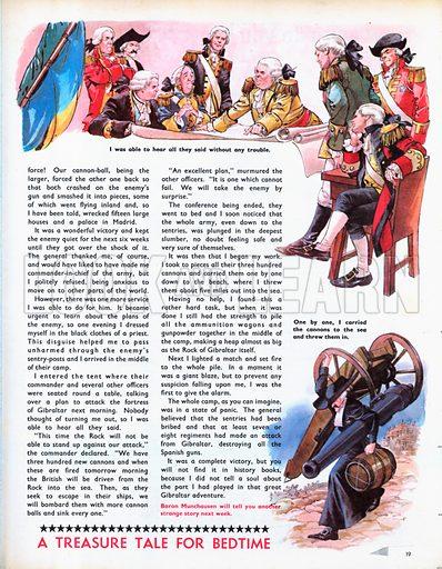 An abridged version of The Wonderful Adventures of Baron Munchausen.