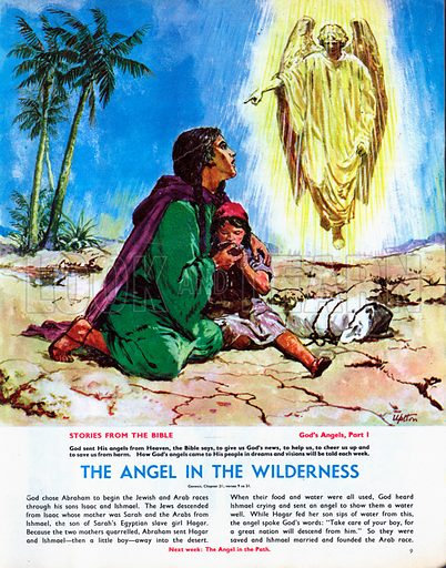 God's Angels: The Angel in the Wilderness.