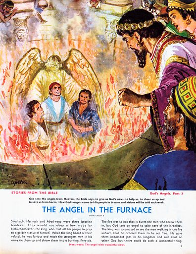 God's Angels: The Angel in the Furnace.
