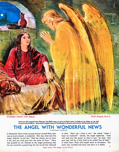 God's Angels: The Angel with Wonderful News.