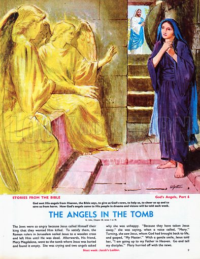 God's Angels: The Angels in the Tomb.