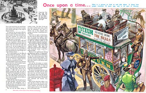 Once Upon a Time... Riding the bus one hundred years ago.