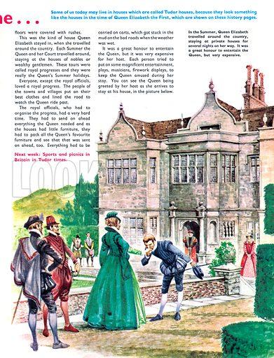 Once Upon a Time... Tudor houses.