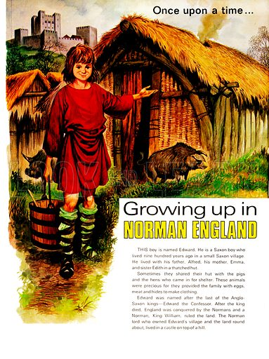 Growing Up in Norman England. From Treasure no. 326.