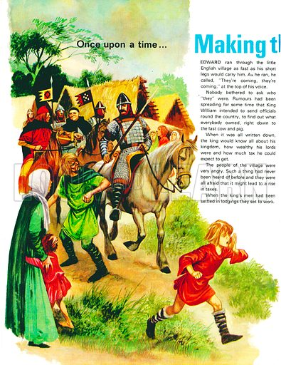 Growing Up in Norman England: Making the Domesday Book. From Treasure no. 329.