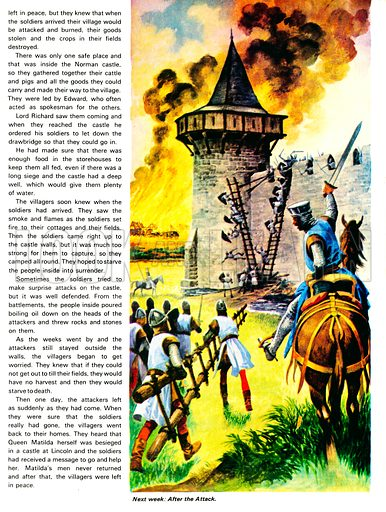 Once Upon a Time: In the Days of King Stephen - The Siege.