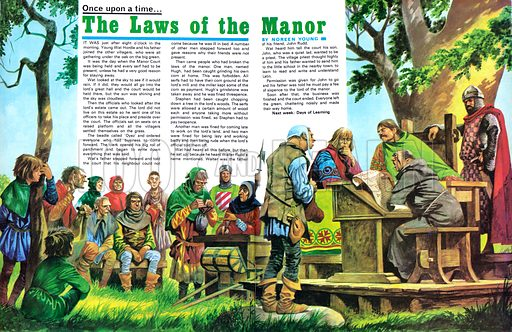 Once Upon a Time: The Laws of the Manor.