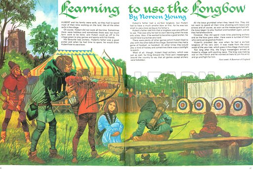 Once Upon a Time: Learning to use the Longbow.