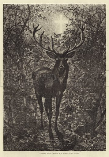 A Christmas Legend, The Stag of St Hubert
