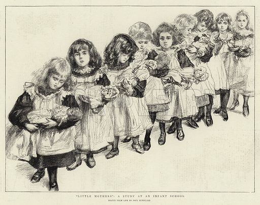 """""""Little Mothers"""", a study at an Infant School"""