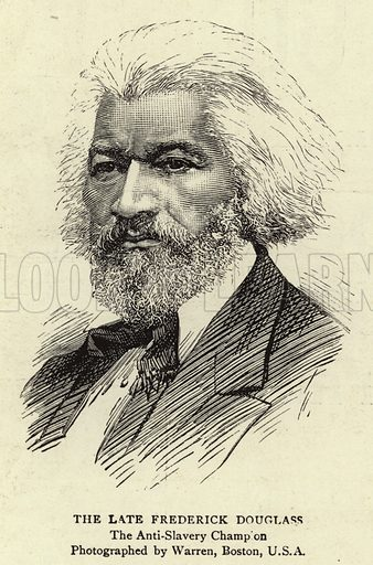 The Late Frederick Douglass, the Anti-Slavery Champion. Illustration for The Graphic, 2 March 1895.