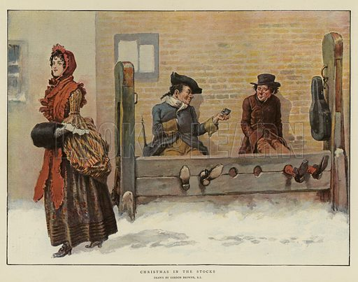 Christmas in the Stocks