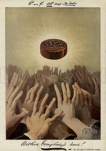 Advertisement, Pears Soap