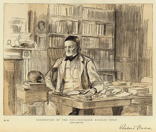 Richard Owen, picture, image, illustration