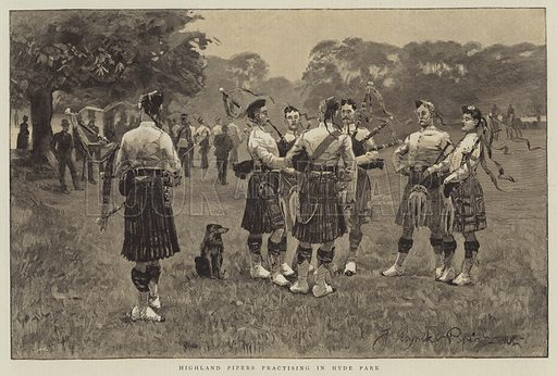 pipers, picture, image, illustration