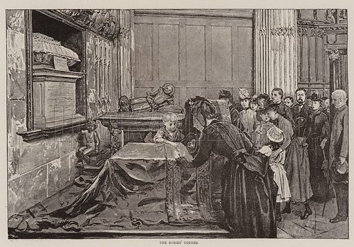 The Babies' Corner. Illustration for The Graphic, 3 December 1892.