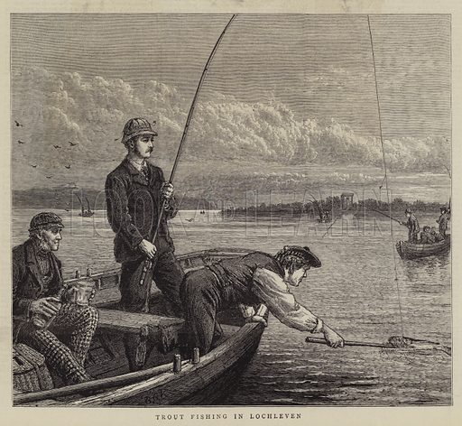 Trout Fishing in Lochleven