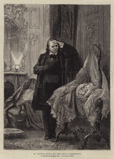 Illustration for The History of a Crime, by Victor Hugo. Illustration for The Graphic, 1 December 1877.
