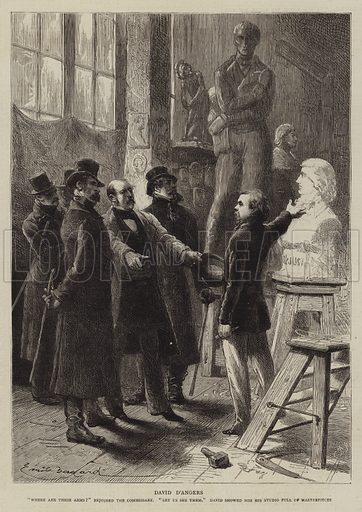 The History of a Crime, the Testimony of an Eye-Witness. Illustration for The Graphic, 18 May 1878.