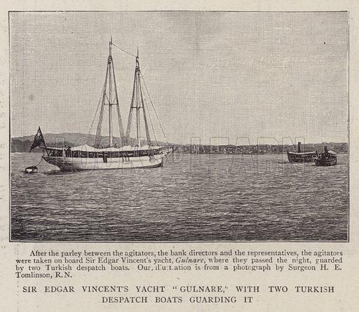 Sir Edgar Vincent