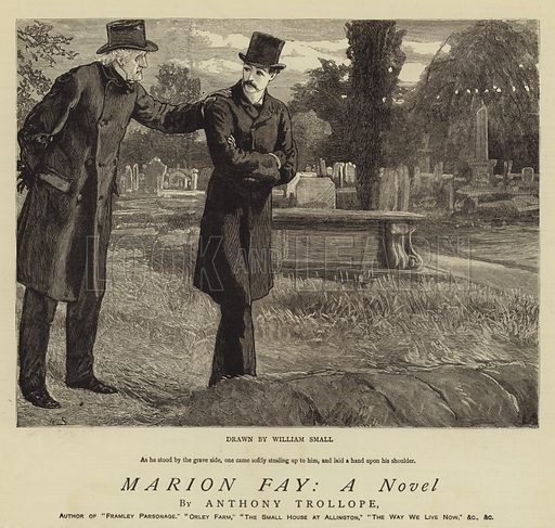 Marion Fay, A Novel. Illustration for The Graphic, 3 June 1882.