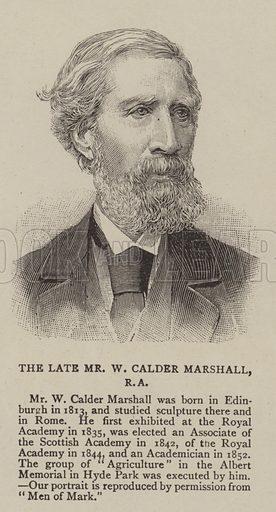 W Calder Marshall.  Illustration for The Graphic, 23 June 1894.