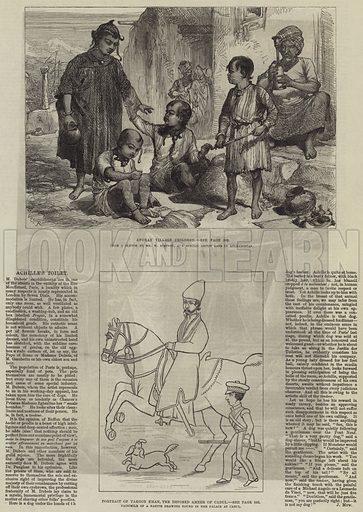 The Afghan War. Illustration for The Illustrated London News, 27 December 1879.